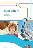 Blue Line 1. Ausgabe Bayern: Workbook mit Audio-CD Klasse 5 (Blue Line. Ausgabe für Bayern ab 2017)