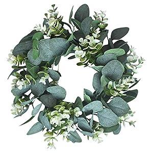 Kapmore Eucalipto Artificial Guirnalda Planta,