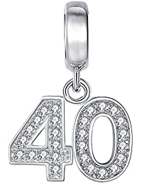 [Sponsored]50th Birthday Celebration Charm Bead - Sterling Silver 925 - Gift boxed xzSOsSvEL