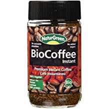 NaturGreen BioCoffee Instant - Café instantáneo, ...