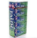 Falim Kaugummi mit Minzaroma ohne Zucker (20 x 5 Stück/140g)