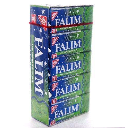 Preisvergleich Produktbild Falim Kaugummi mit Minzaroma ohne Zucker (20 x 5 Stück / 140g)