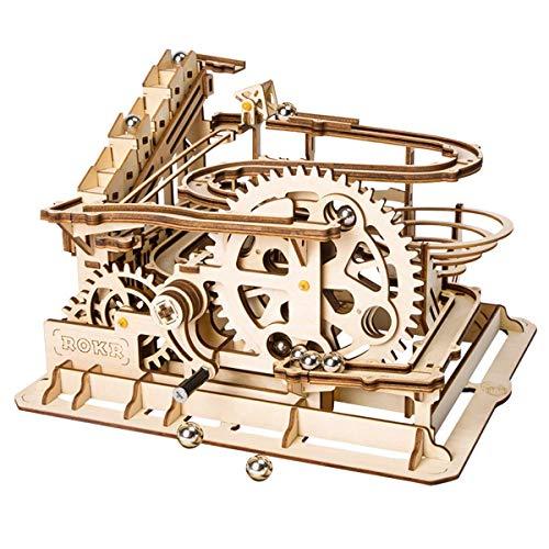XULONG 3D Wooden Puzzle, Erwachsene Model Kits DIY Roller Coaster-Kreative Valentine es Day/Geburtstag Jungen und Mädchen
