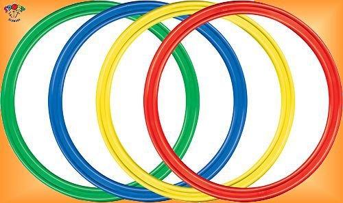 "Kinder Hula Hoop Reifen Gymnastikreifen Hula Hup 50 cm \""4 Sück\"""