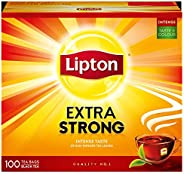 Lipton Extra Strong Black Tea Bags, 100s