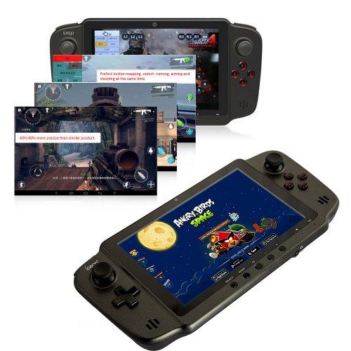 DBPOWER Game Pad Spielkonsole (7 Zoll) Tablet PC (RK3188 Cortex-A9 Quad Core, 1,6 GHz, 2 GB DDR3 RAM, 8GB Flashspeicher, Mali 400, Android 4.2, 4000mAh Li-Ionen Akku, 1280 x 800 Bildschirmaufloesung)
