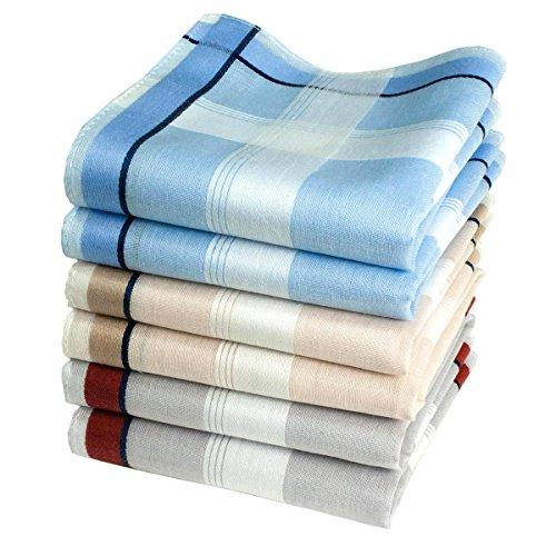 Mouchoirs classiques Henry - 40cm x 40cm (x6)