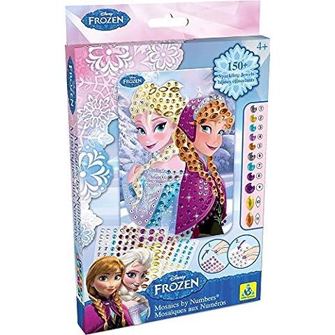 Mosaico adesivo Disney Frozen Anna e Elsa