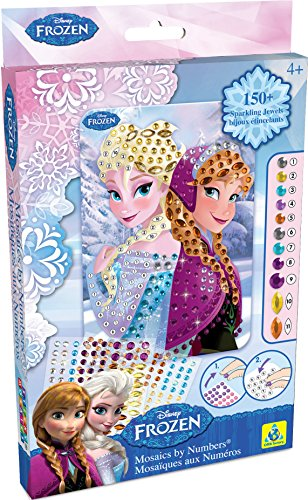 Sticky Mosaics Disney Frozen Anna and Elsa