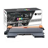 GPC Image Kompatibel Toner Patronen für Brother TN2220 TN2010 TN-2220 TN-2010 Schwarz für Brother MFC-7360N HL-2130 DCP-7055 FAX-2840 FAX-2940 FAX-2845 MFC-7460DN HL-2250DN HL-2240D HL-2240 HL-2135W