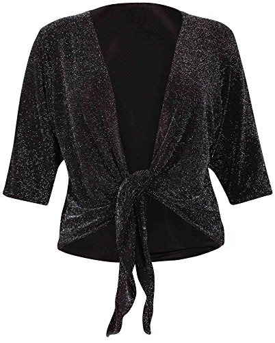 Purple Hanger - Boléro - Femme Noir - Noir