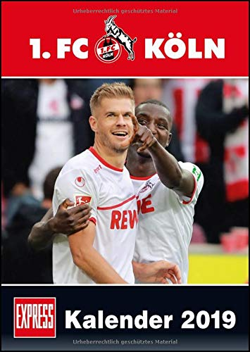 1. FC Köln 2019 – Fußball-Kalender 2019 – Fankalender – 29,7 x 42 cm
