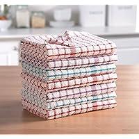 ARITRADERSLTD - Paños de Cocina (100% algodón, Muy absorbentes, 3 Unidades), 100% algodón de Rizo. 100% algodón algodón, Paño de Cocina de Rizo, 3 Unidades