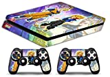 Skin pour PS4 Slim – Gohan Trunks Dragon Ball – Sticker de protection en édition limitée pour Playstation 4 de Sony
