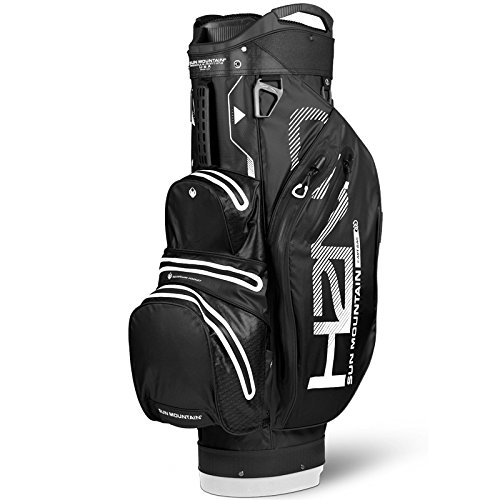 Sun Mountain SUM18HLC Sac de Golf Mixte Adulte, Noir/Blanc