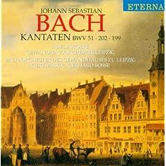 Bach: Cantatas - BWV 51, 199, 202