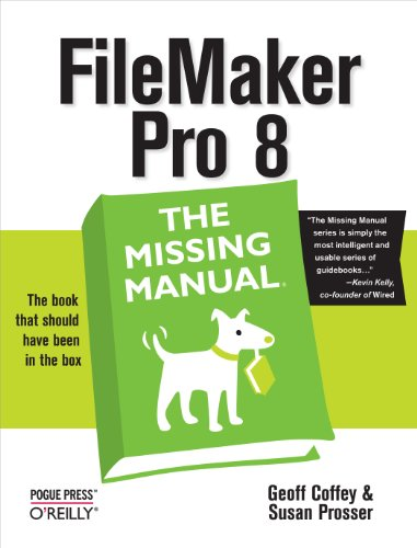 FileMaker Pro 8: The Missing - Missing Manual Ios 8
