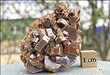 Vanadinite (vanadio ore), alta qualità, cristallo minerale (RSA816)