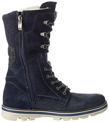 Tamaris 26269, Sneaker Haute Femme Bleu (Navy Comb 890)