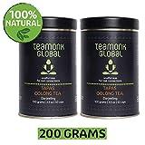 Tapas Teamonk té oolong (100 tazas)   té premium oolong   té para adelgazar   té adelgazante   hojas sueltas   sin aditivos - 200g