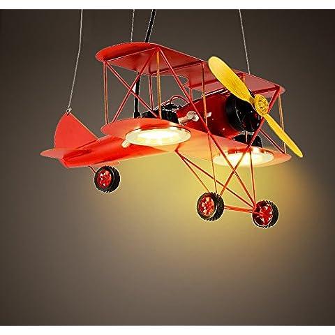 Vashti lámpara colgante/Tubo de luz/lámpara de techo/Americanas esstischlampe/Plafón/proyección cuerda hängel lámpara araña techo Introdujo Caricatura Avión, 48cm