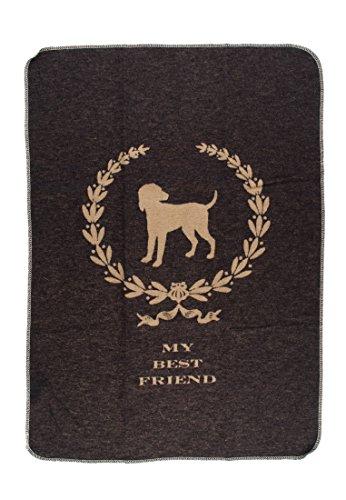 David Fussenegger 61499879 Haustierdecke Best Friend Hund, 70/90 cm