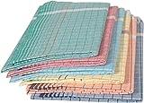 Tks Cotton Bath Towels (6 Pieces) - Mult...