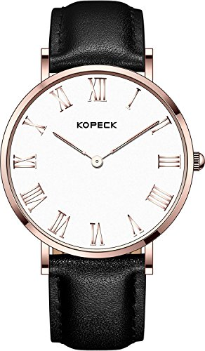kopeck-rose-golden-stainless-steel-roman-numeral-hour-marking-white-dial-watches-for-men-black-leath