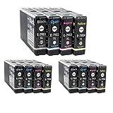 12 kompatible YouPrint Patronen für Epson Workforce Pro WF4630DWF WF4640DTWF WF5110DW WF5190DW WF5620DWF WF5690DWF