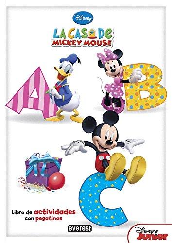 La Casa De Mickey Mouse. ABC (Libros de colorear y actividades Disney)
