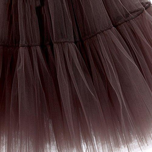 Super Modern -  Vestito  - linea ad a - Donna Black(825)