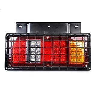 ANJING 12V/24V hinten Stop LED Lichter Rückleuchte Anhänger LKW,12V