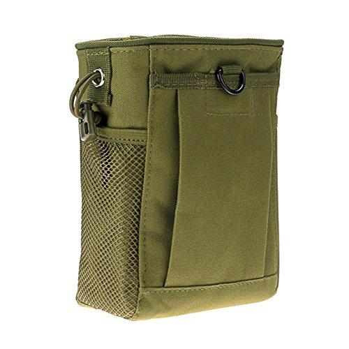 Shiningup Casual wasserdichte Chest Pack Schulter Crossbody Tasche Reiten Sport Multipurpose Daypack Grün