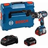 Bosch Professional 18V System accuschroefklopboormachine GSB 18V-85 C (max. draaimoment 85 Nm, incl. 2x5.0Ah accu + oplader,