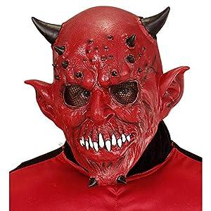 WIDMANN Máscara de Demonio Adulto Cualquier día