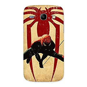Hanging Web Multicolor Back Case Cover for Galaxy Core
