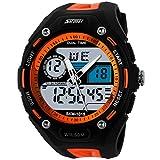 SKMEI-Mens-5ATM-Dive-Waterproof-Analog-Digital-Sport-Military-Multifunctional-Watch