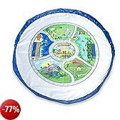 EZY Tidy Bag - NUOVISSIMO Tappeto da gioco Mappa Città e Borsa Portagiocattoli - Grande 150 cm