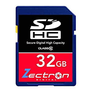 Zectron Pro 32GB SD SDHC Class 10 High Speed MEMORY CARD for GoPro HD Hero original Camera 32GB SD SDHC Class 10 High Speed Digital MEMORY CARD for and HD Video