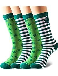 Cottonique taglia unica 37-41 pacco da 6 paia di calzini da donna comodi in cotone senza elastico