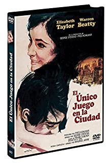 The Only Game In Town (1970) - Region Free PAL, plays in English without subtitles by Elizabeth Taylor