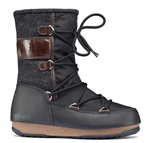 Tecnica Apres-ski-stiefel (Moon-boot Damen W.E. Vienna WP Schneestiefel, Nero (Nero/Testa Di Moro 002), 36 EU)