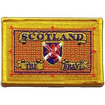 Aufnäher Patch Flagge Schottland Scotland The Brave - 8 x 6 cm