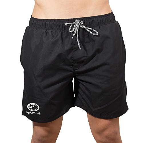 Optimum Herren beachbums Swim Shorts schwarz