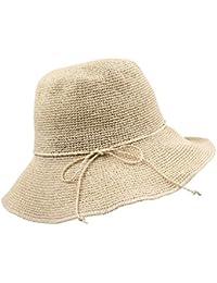 Cappelli di Paglia da Sole Berretti Estivi Pieghevole Primavera Estate  Donna Ragazza Cappello Cloche 78a69b7dc70a