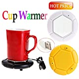 Alcoa Prime Portable USB Gadget Powered Cup Mug Warmer Coffee Tea Drink Heater Tray Pad Novelty Items Gift Computer Peripherals Shipping