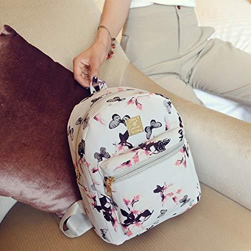 Neverending Rucksack Damen Schön und Durchdacht | für Uni Reisen Freizeit Job | mit Laptopfach & Anti Diebstahl Tasche