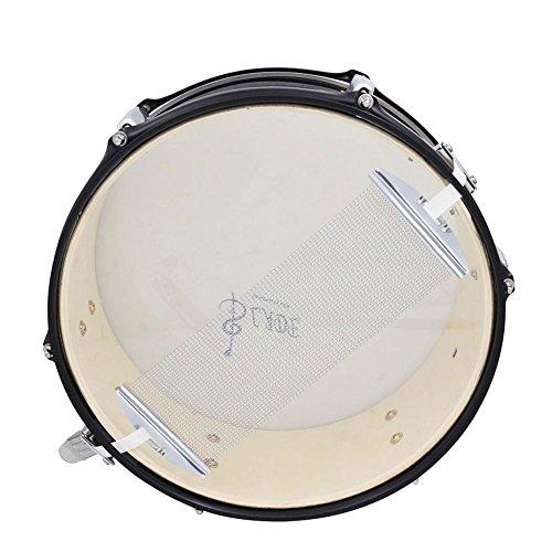Alomejor Snare Teppich, Silber 32x10.8cm Stahl Drum Snare Wire 13 Zoll 40 Strang Snare Wire für Drum