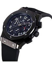 Reloj deportivo militar para hombre Megir de silicona con calendario y fecha + caja Gorben