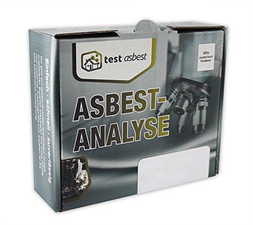 Preisvergleich Produktbild Asbest Test zum Nachweis von Asbest in einer Staubprobe oder Materialprobe - professionelle Asbest Analyse aus dem Labor mit eigener Probenahme und schriftlichem Ergebnis